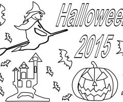 Coloriage Halloween 2015