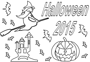 Coloriage Halloween 2015
