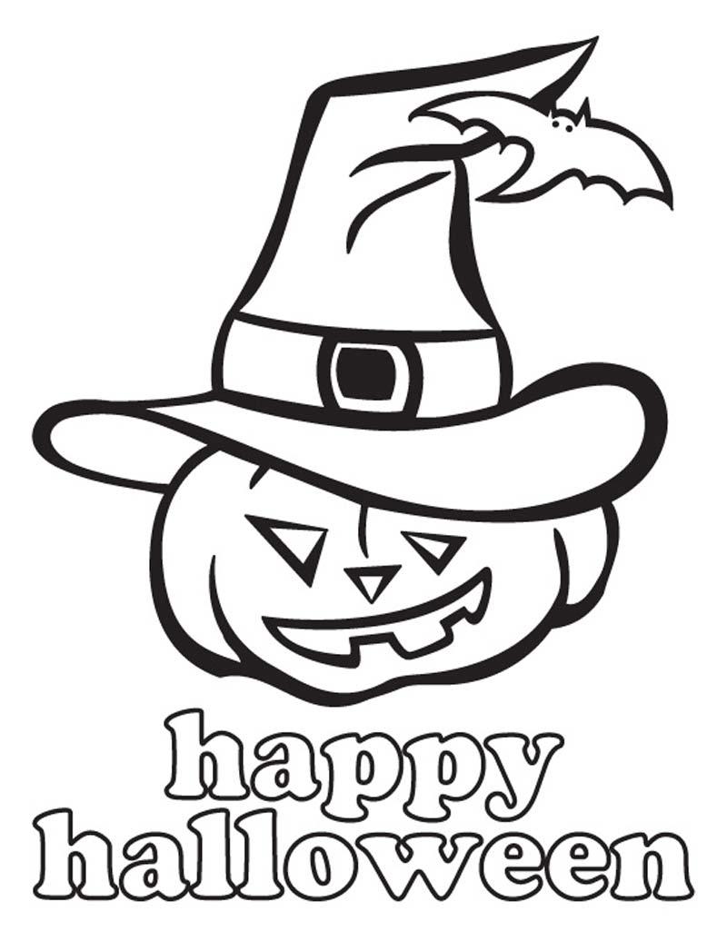 Coloriage Happy Halloween A Imprimer Et Colorier