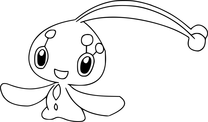 Coloriage Manaphy