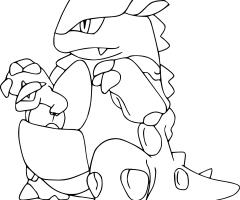 Coloriage Mega-Kangourex