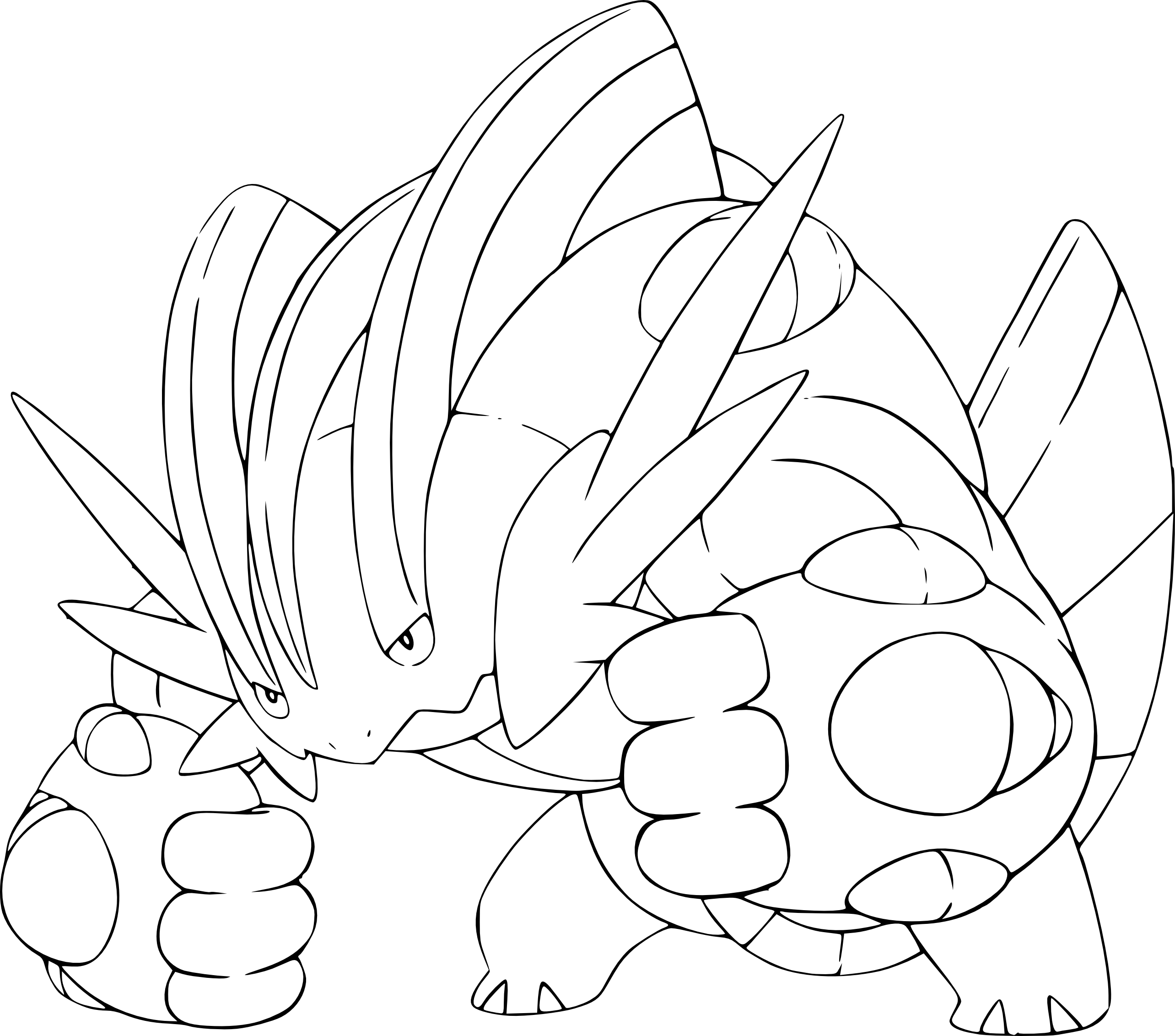 Coloriage Pokemon M  g...