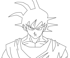 Coloriage Son Goku