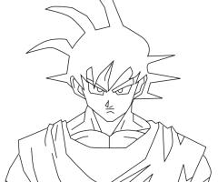 Coloriage Son Goku