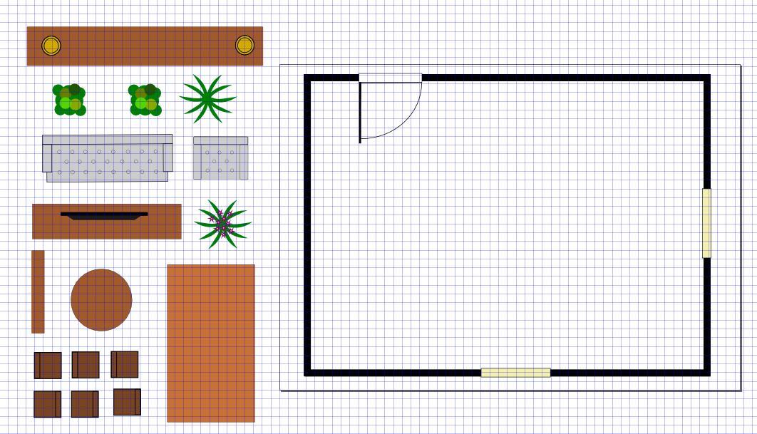 utiliser inkscape pour dessiner son salon sa cuisine sa salle de bain. Black Bedroom Furniture Sets. Home Design Ideas
