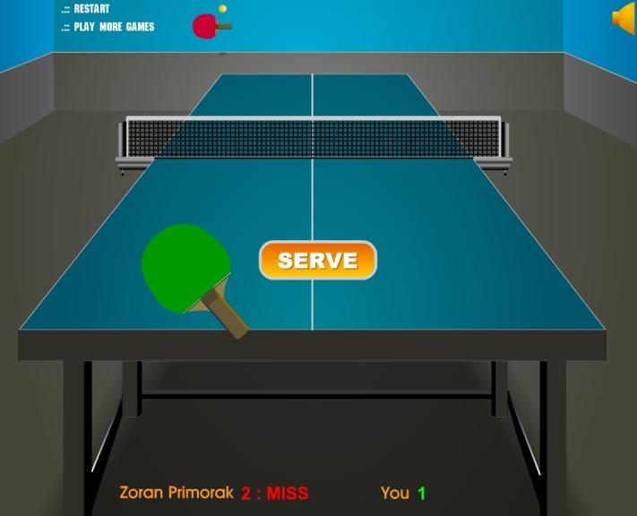 Jeu Ping Pong