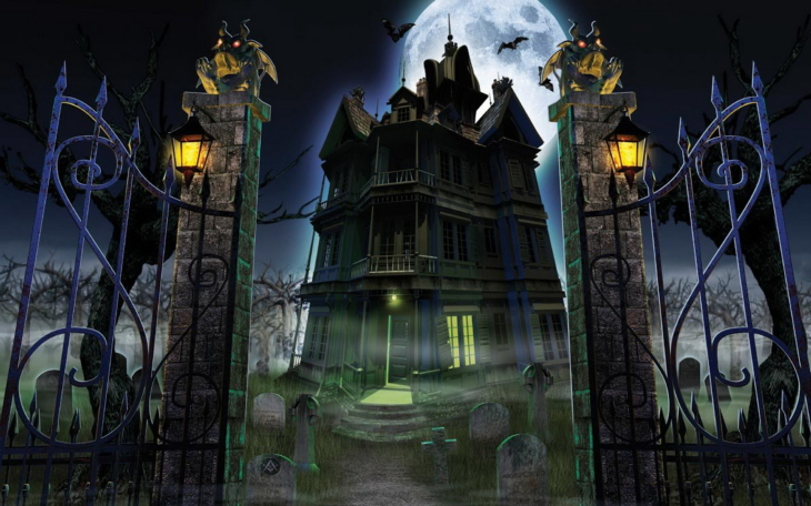 Maison hantée Halloween