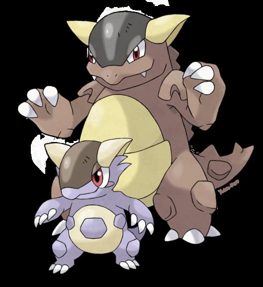 Coloriage m ga kangourex pokemon imprimer et colorier - Pokemon mega kangourex ...