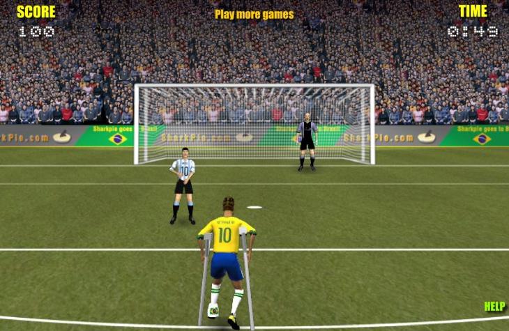 Neymar jeu blesse