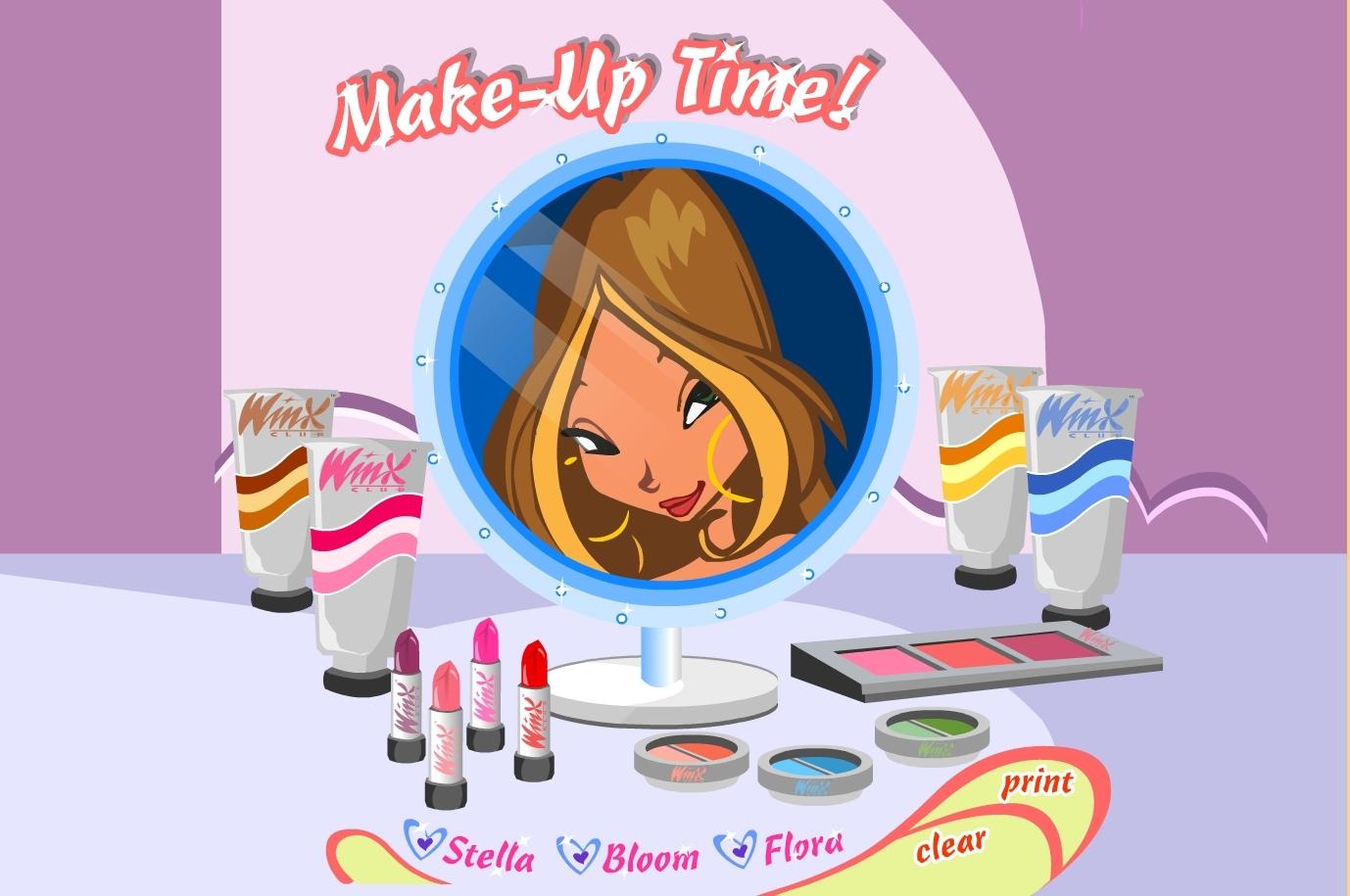 jeu winx maquillage gratuit en ligne. Black Bedroom Furniture Sets. Home Design Ideas