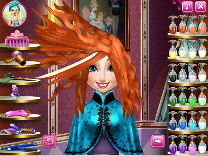 Anna coiffure