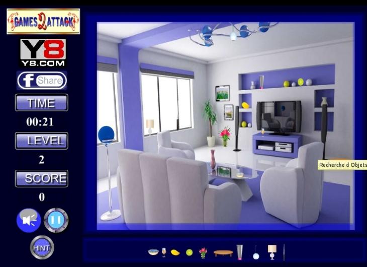 jeu recherche objets dans une maison gratuit en ligne. Black Bedroom Furniture Sets. Home Design Ideas