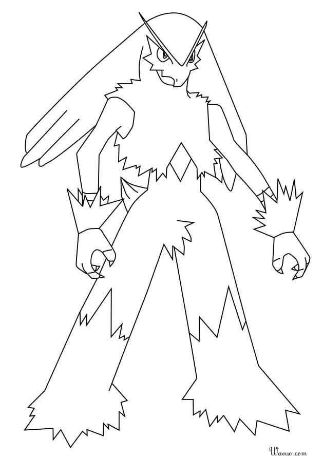 Coloriage bras gali pokemon imprimer et colorier - Coloriage pokemon brasegali ...