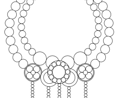 Coloriage collier