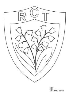 Coloriage de sport imprimer et colorier - Dessin de joueur de rugby ...