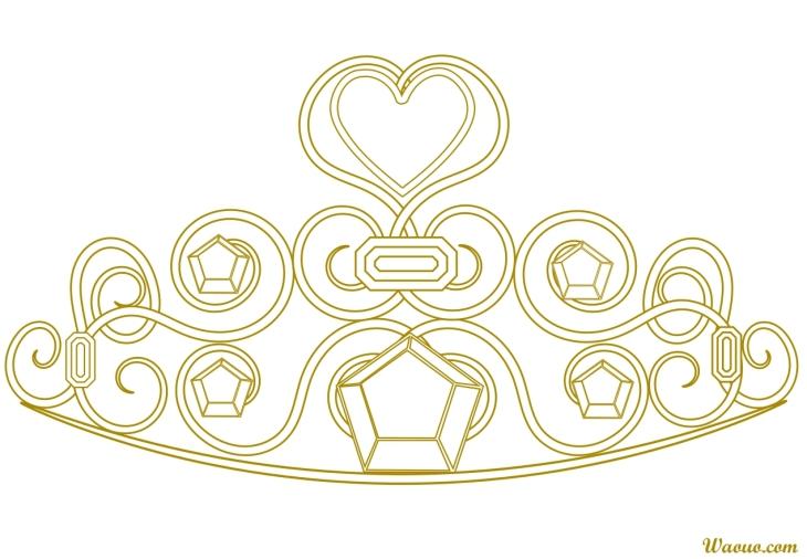 Dessin couronne princesse - Couronne de noel a colorier ...