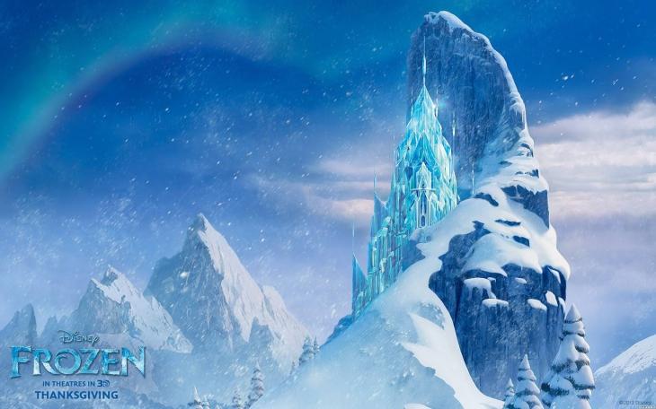 Elsa palais de glace