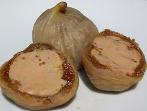 Figues farcies foie gras