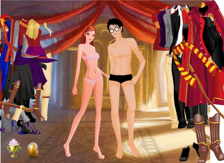 Harry Hermione sous-vetements