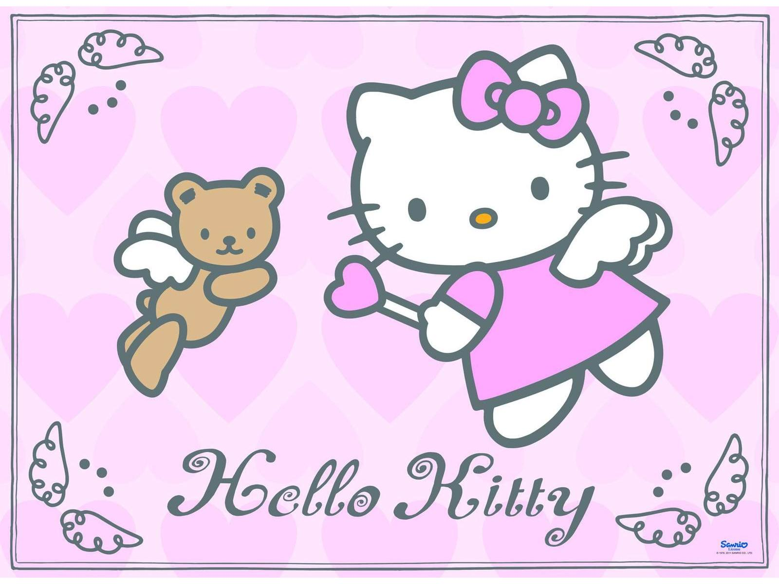 Coloriage hello kitty ange imprimer et colorier - Hello kitty imprimer ...