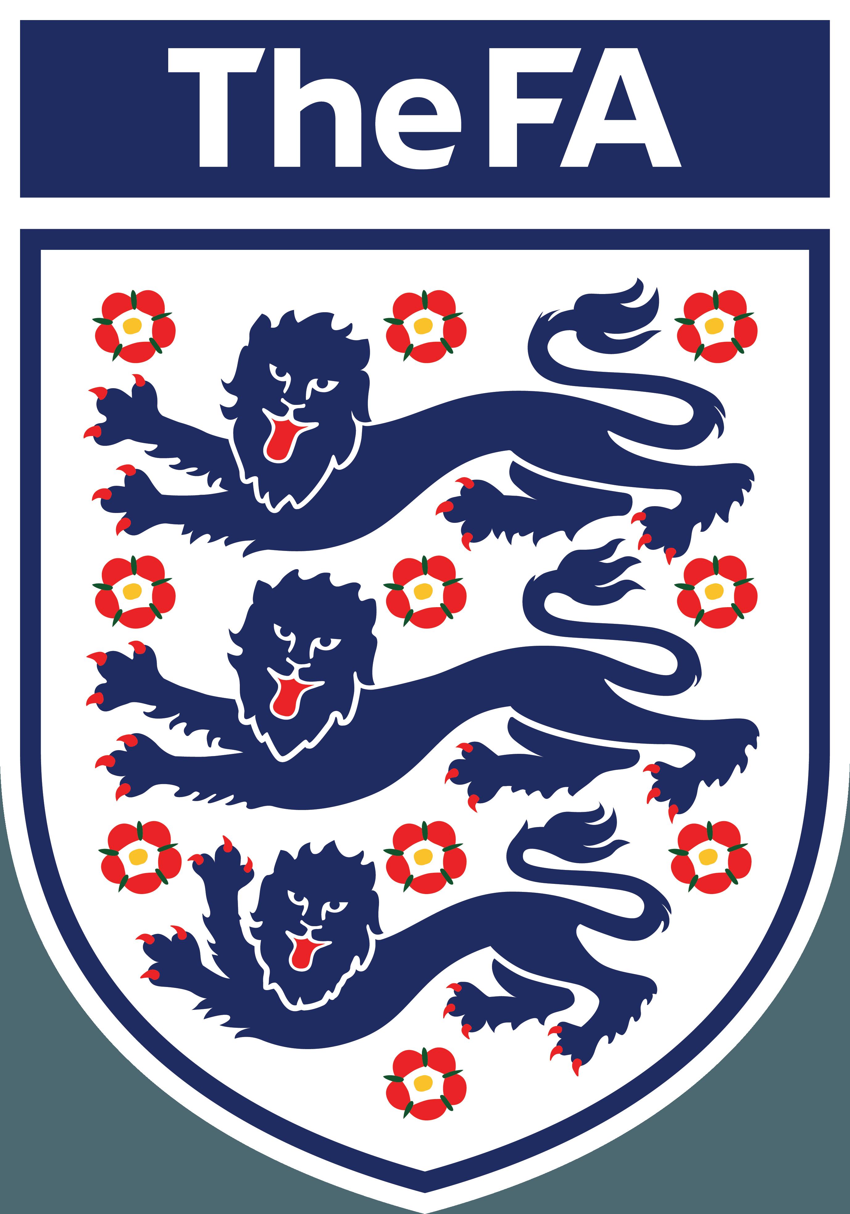 Coloriage logo Angleterre foot à imprimer et colorier