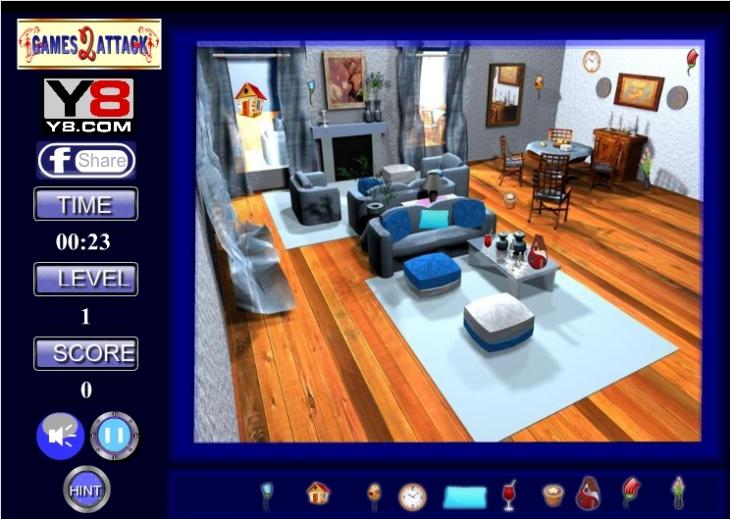 Jeu recherche objets dans une maison gratuit en ligne for Objets domotiques dans une maison