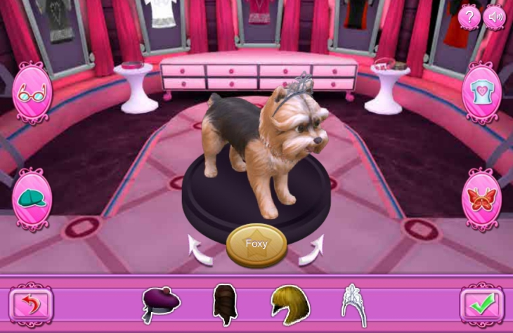 Barbie salon chiens