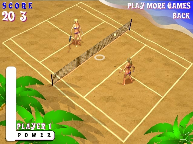 Beach Tennis fille