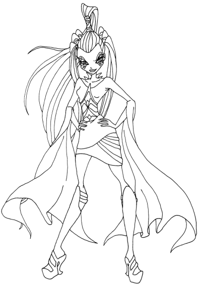 Coloriage Icy Winx Club