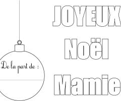 Coloriage Pere Noel Joyeux Noel A Imprimer Et Colorier
