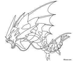 Coloriage Mega-Leviator