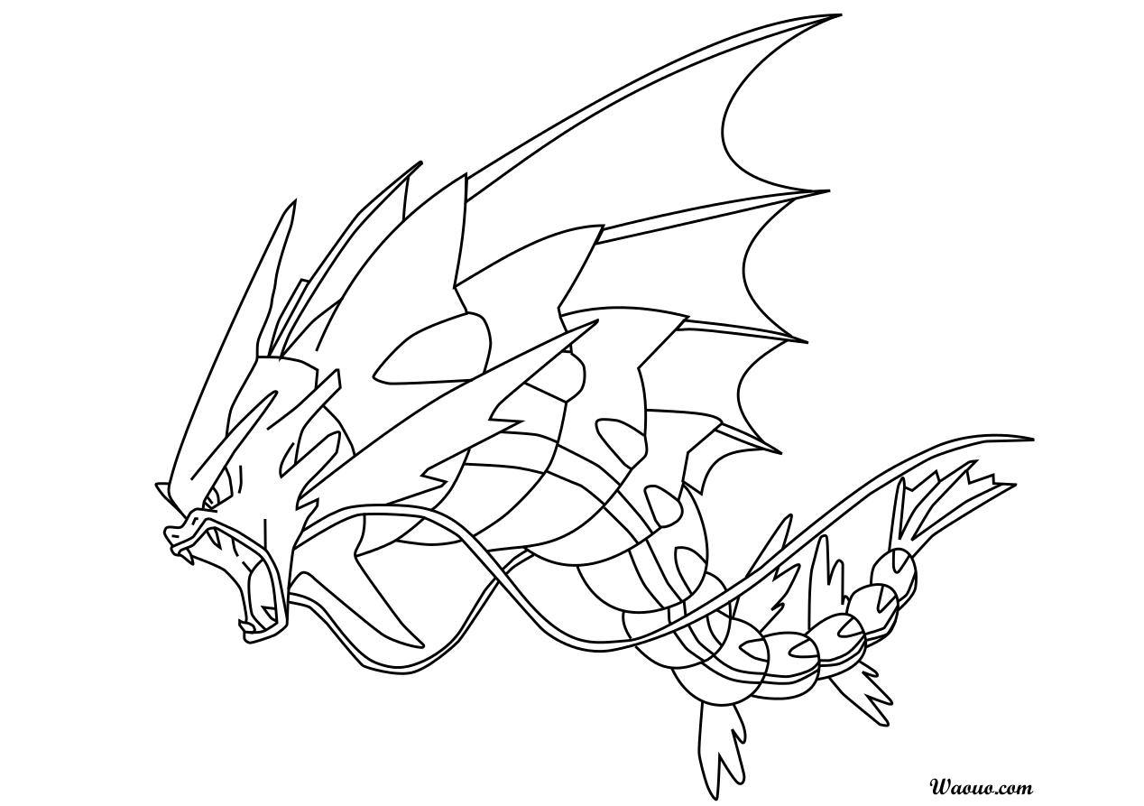 L viator coloriage m ga l viator pokemon imprimer et - Pokemon x et y legendaire ...