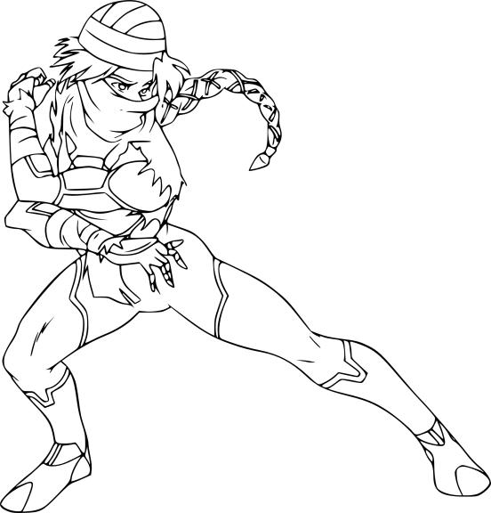 Coloriage Sheik Zelda