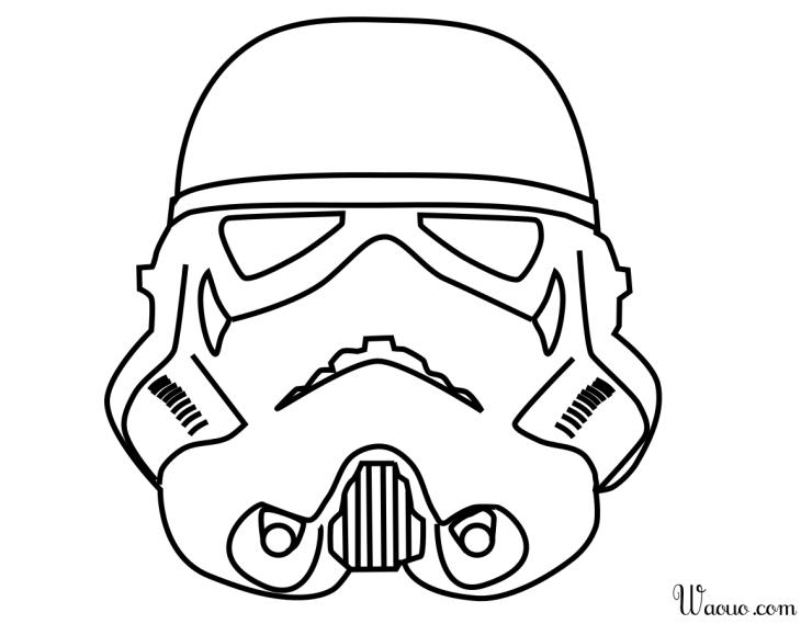 Coloriage stormtrooper star wars imprimer et colorier - Star wars a imprimer gratuit ...