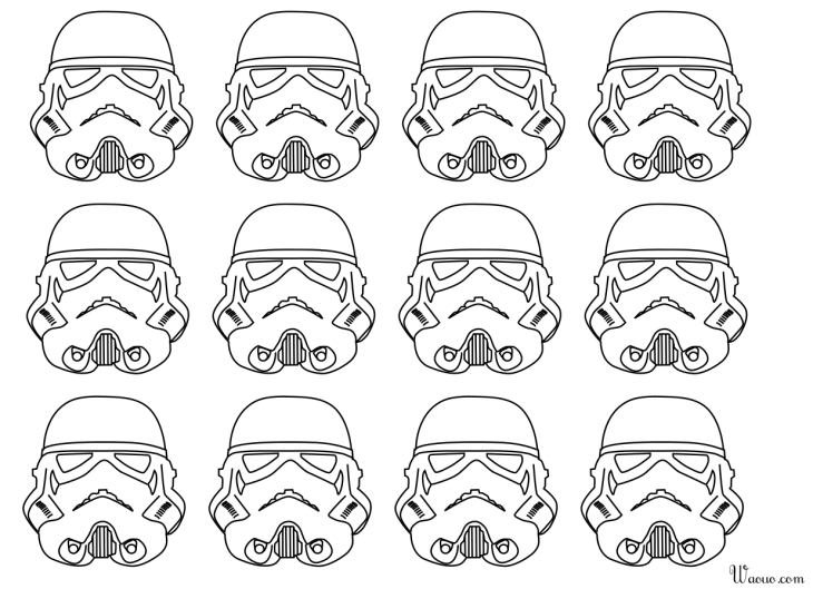 Coloriage Stormtrooper Star Wars à Imprimer Et Colorier