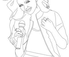 Coloriage Victorious