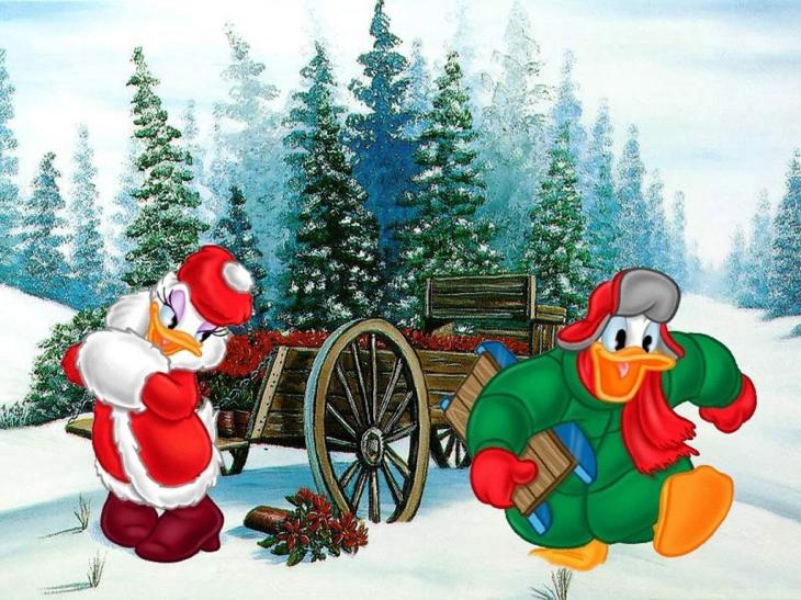 Daisy Duck noel
