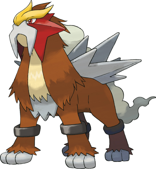 Entei Pokemon