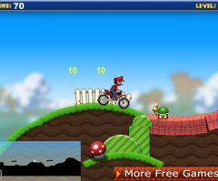Mario moto bike