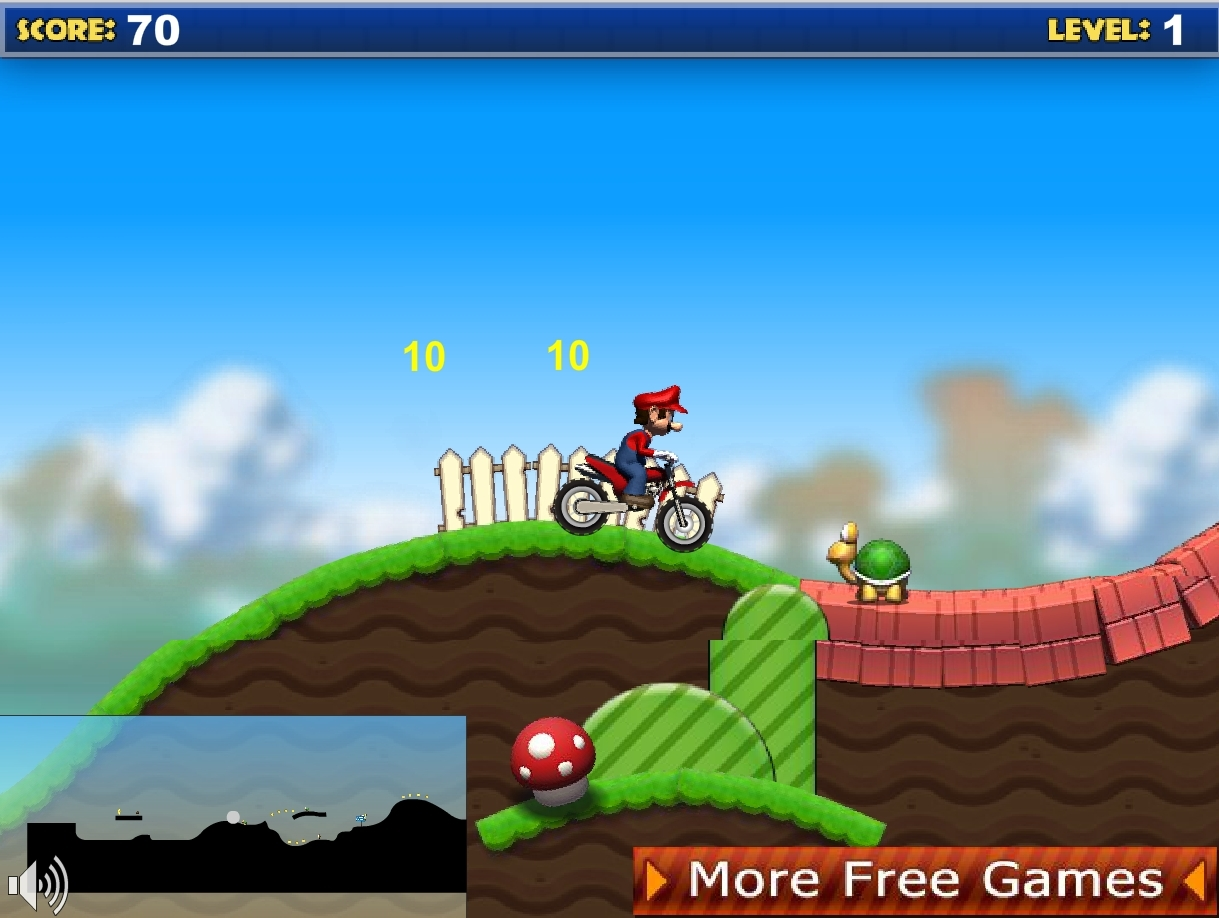 Jeu mario moto bike gratuit en ligne - Mario gratuit ...