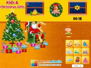 Pere Noel enfants