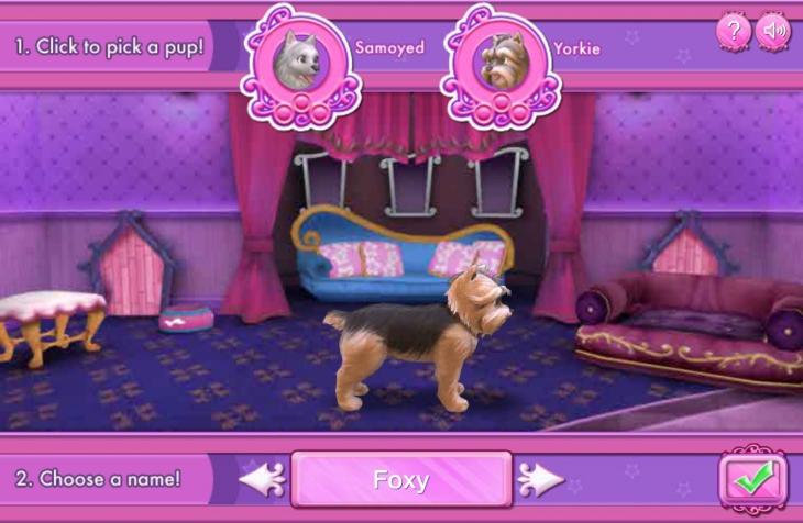 jeu barbie au salon pour chiens gratuit en ligne