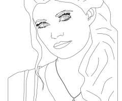 Coloriage Belle OUAT