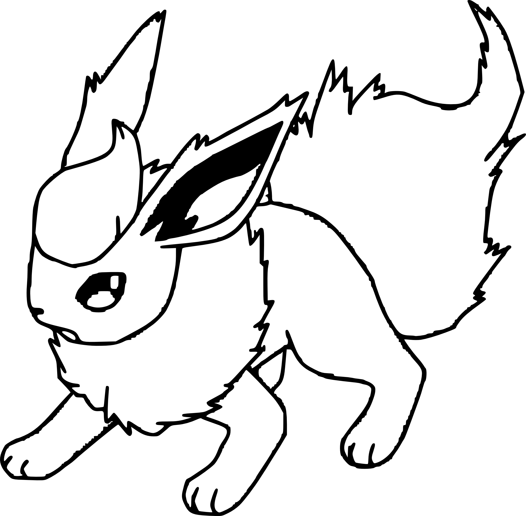 Pyroli coloriage pyroli pokemon imprimer et colorier - Evolution tiplouf ...