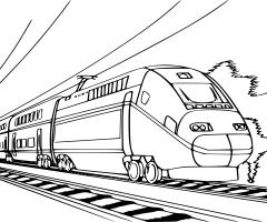 Coloriage locomotive vapeur imprimer et colorier - Coloriage train a vapeur ...