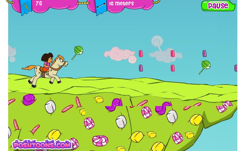 Jeu dora l exploratrice balade en poney gratuit en ligne - Jeux dora l exploratrice gratuit ...