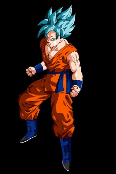 Goku Super Saïyen Divin