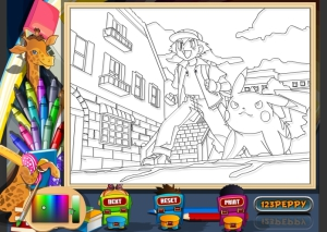 Jeu coloriage Pokemon