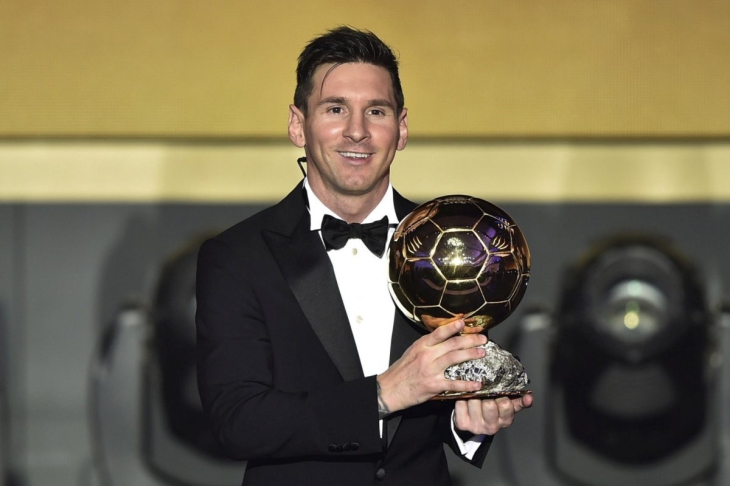Lionel Messi ballon d'or 2016