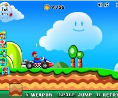 Mario voiture de course